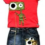 Le eco t-shirt di Alessandro Acerra per Hibu