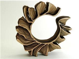 I gioielli di legno di anthony roussel tendenziosa for Gioielli di design