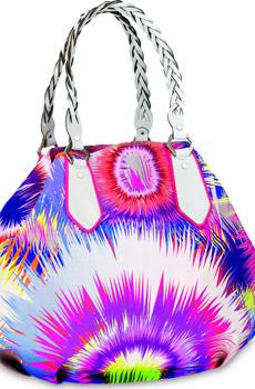 Un'esplosione di colori: è la borsa di Matthew Williamson