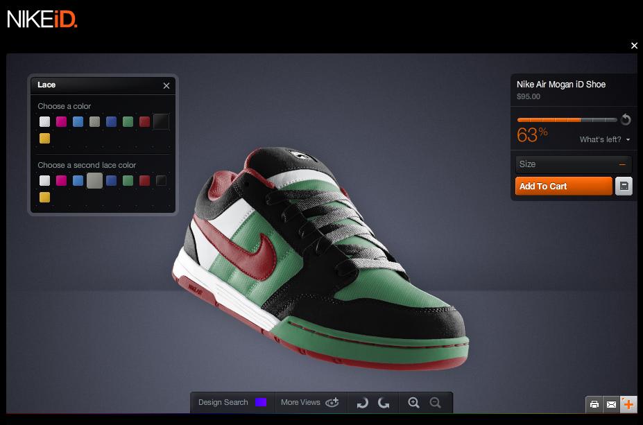 Con NikeiD le sneakers Nike sono personalizzate
