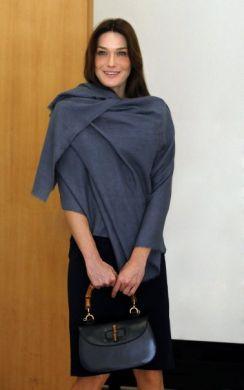 it bag new bamboo Gucci Carla Bruni