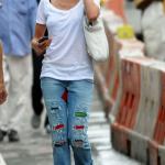 Jeans patchwork: novità A/I 2010