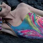 Bellissime in spiaggia col trikini