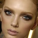 Il make up delle feste: tendenza oro