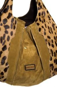 La borsa leopardata di Jimmy Choo