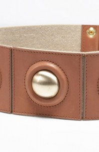 Cintura in pelle e cabochon, Diane Von Furstenberg