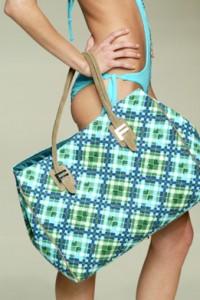 Fisico, borsa colorata