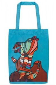 Una borsa creata da Marc Jacobs e da artisti disabili