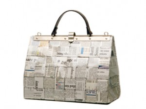 Una borsa Paper Collection. Non esiste una CeeBee uguale all'altra e non esisterà mai!